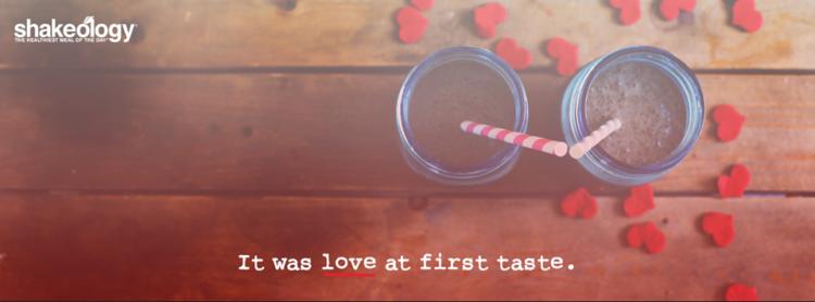 love at first taste