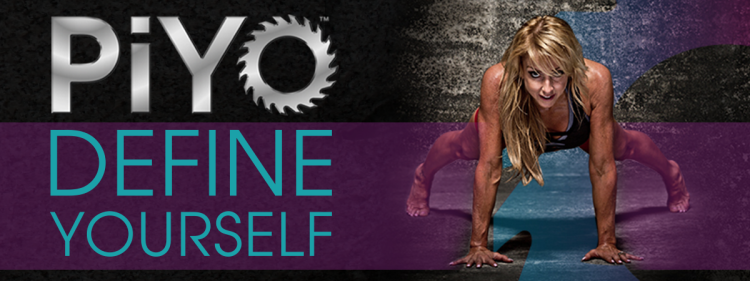 piyo define yourself banner