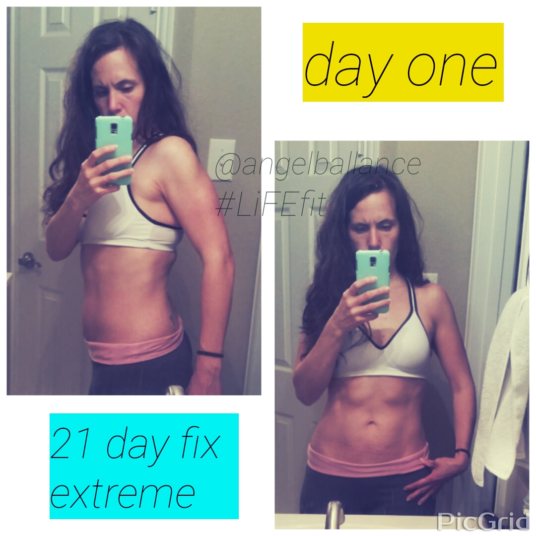 Day One 21 Day Fix Extreme
