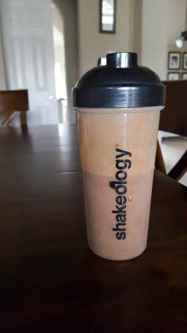 shakeology on table