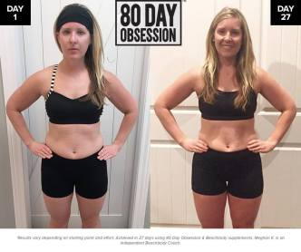 results meg 80 day obsession test group